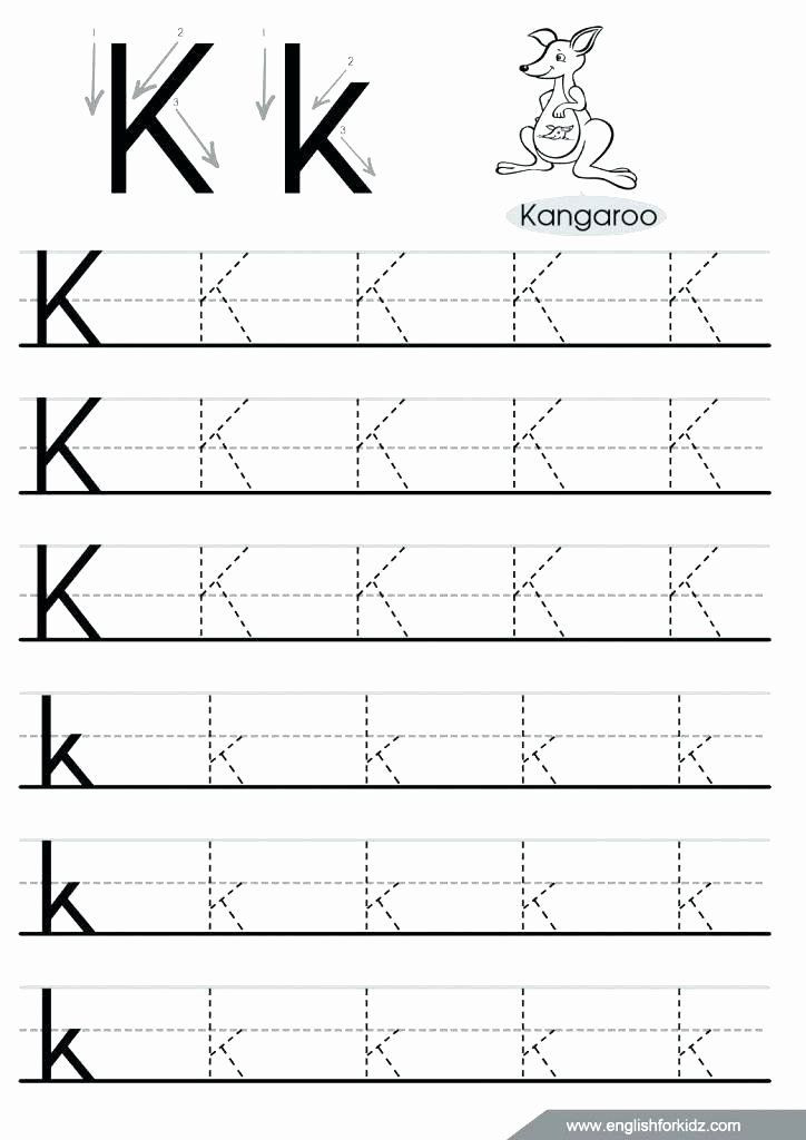 Letter N Tracing Worksheets Preschool Letter N Worksheets for Kindergarten Dotted Line Alphabet