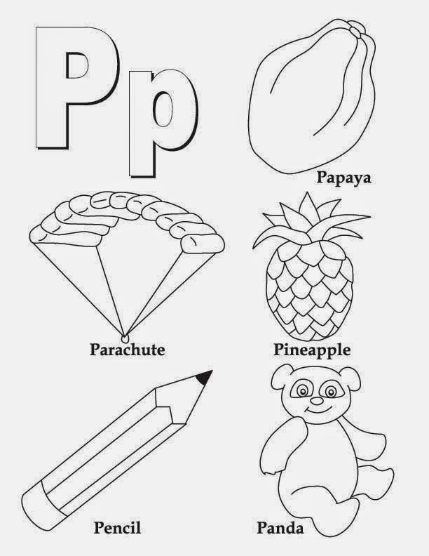 Letter P Preschool Worksheets Alphabet Letter P Worksheet