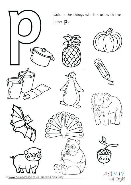 Letter P Preschool Worksheets Letter P Preschool Worksheets Alphabet Worksheets for