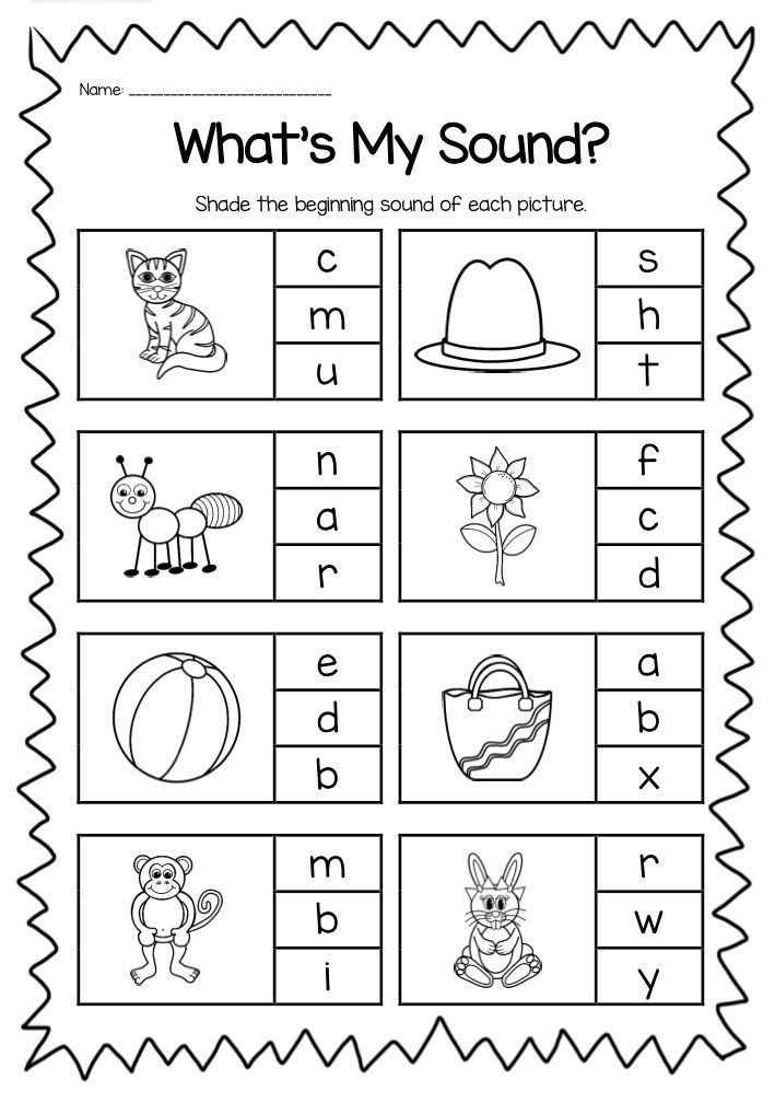 Letter Recognition Worksheets for Kindergarten Phonics Worksheets for Kindergarten
