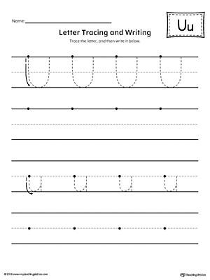 Letter U Worksheets for Kindergarten Free Worksheets Letter U Worksheets for Preschool Number