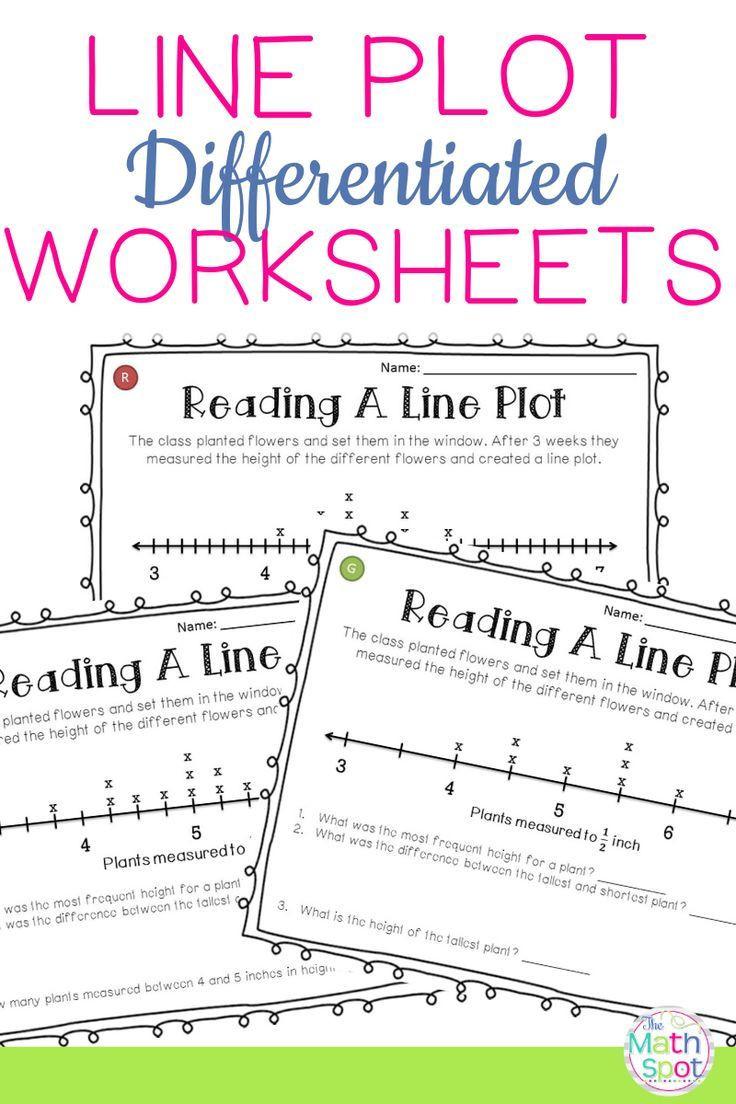 Line Plot Worksheet 5th Grade Line Plots Worksheets Ideal for Distance Learning