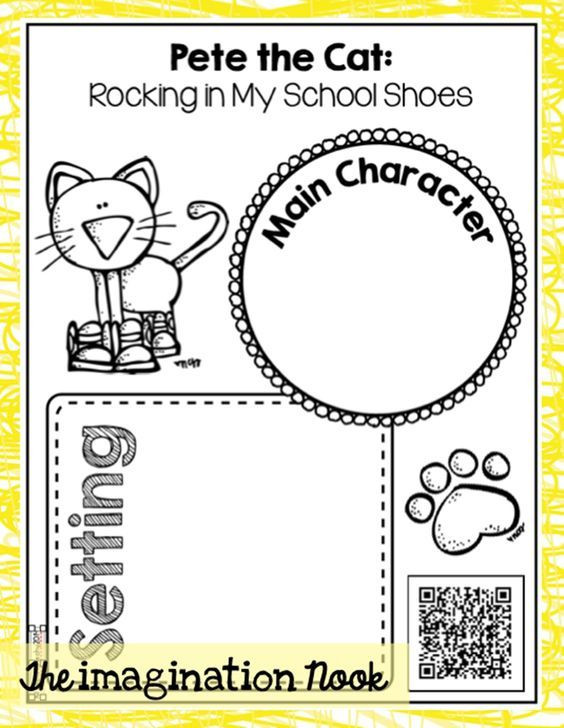 Listening Center Response Sheet Kindergarten 73 Cool Pete the Cat Freebies and Teaching Resources