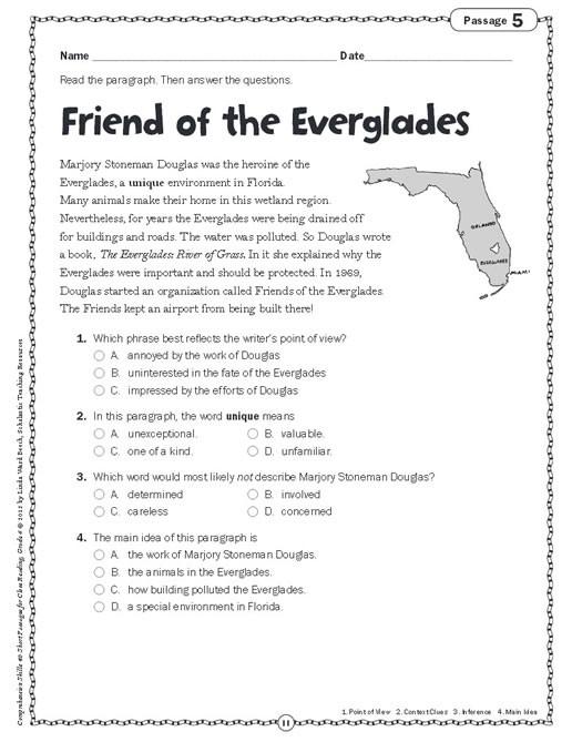 Main Idea 3rd Grade Worksheets Pathbrite Media Detail