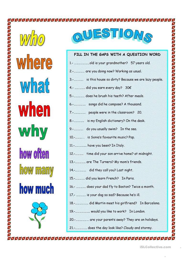 Making Friends Worksheets Kindergarten Making Questions English Esl Worksheets for Distance