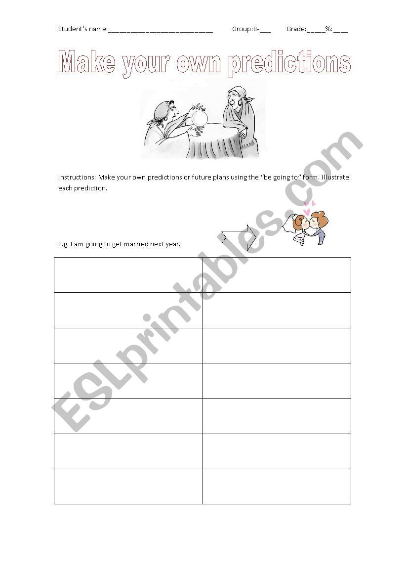 Making Predictions Worksheet 2nd Grade Make Predictions Esl Worksheet by solsito