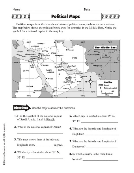 Maps Worksheets 2nd Grade United States Map Worksheet 2nd Grade