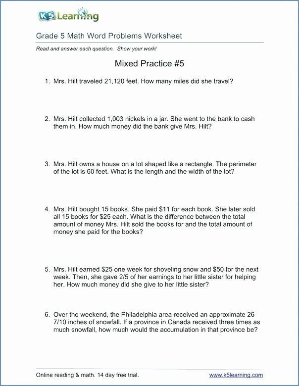 Math Conversion Worksheets 5th Grade Math Conversion Worksheets 5th Grade Measurement Conversion
