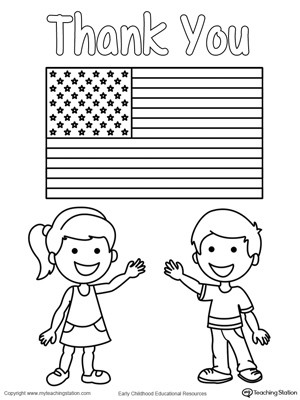 Memorial Day Worksheets First Grade Memorial Day Thank You Heros