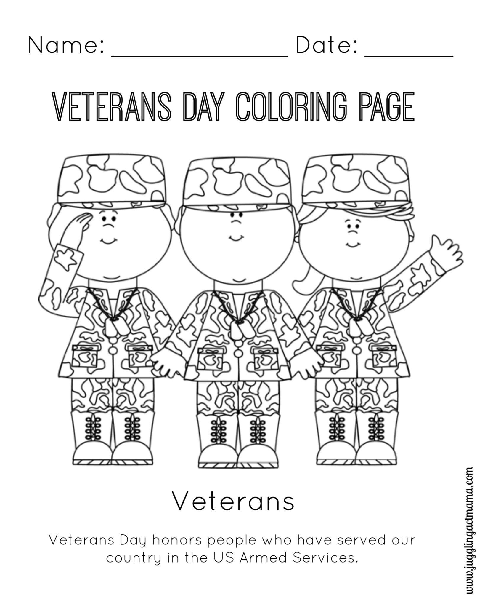 Memorial Day Worksheets First Grade Veterans Craft Kindergarten Worksheet Printable Worksheets