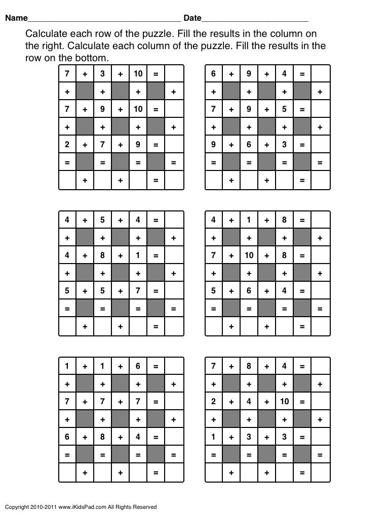 Middle School Math Puzzles Printable 8th Grade Math Worksheets Printable Sub Worksheets