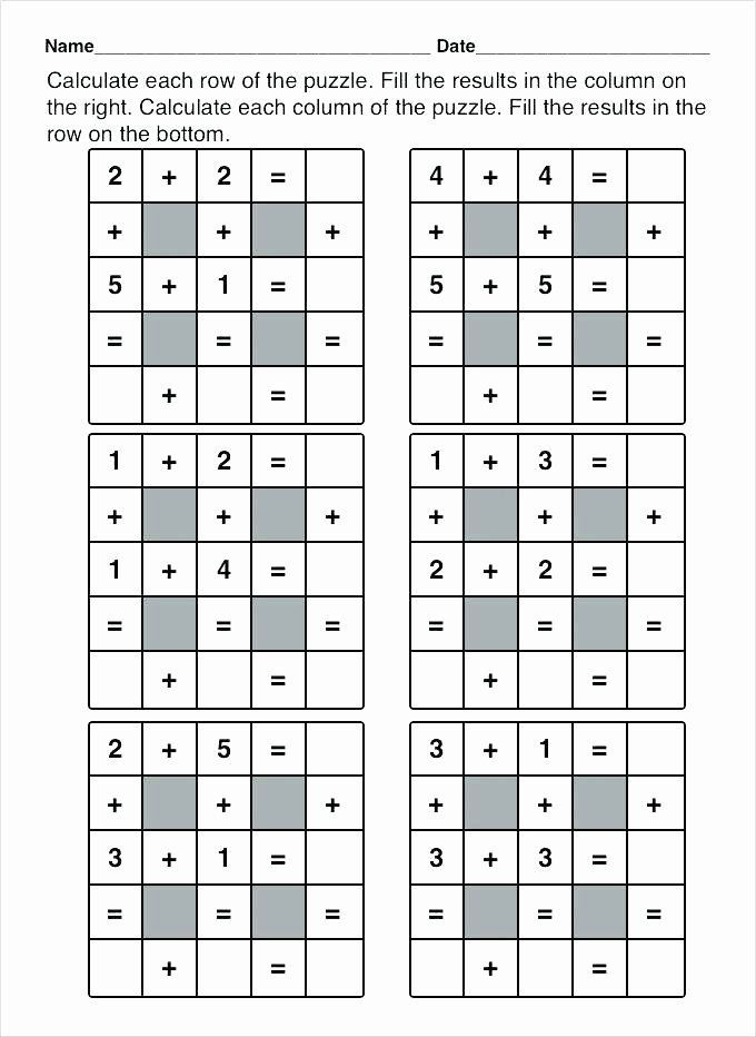 Middle School Math Puzzles Printable Pin On Grade Math Worksheets & Sample Printables