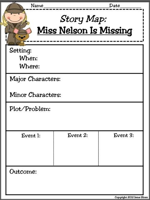 Miss Nelson is Missing Printables Miss Nelson is Missing 125 Pages Of Ideas Games