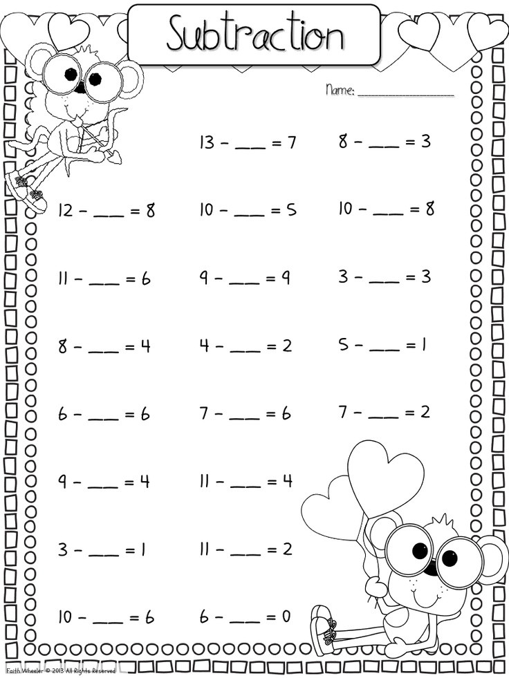 Missing Addends Worksheets 1st Grade Missing Number Worksheet New 839 Missing Number Worksheet