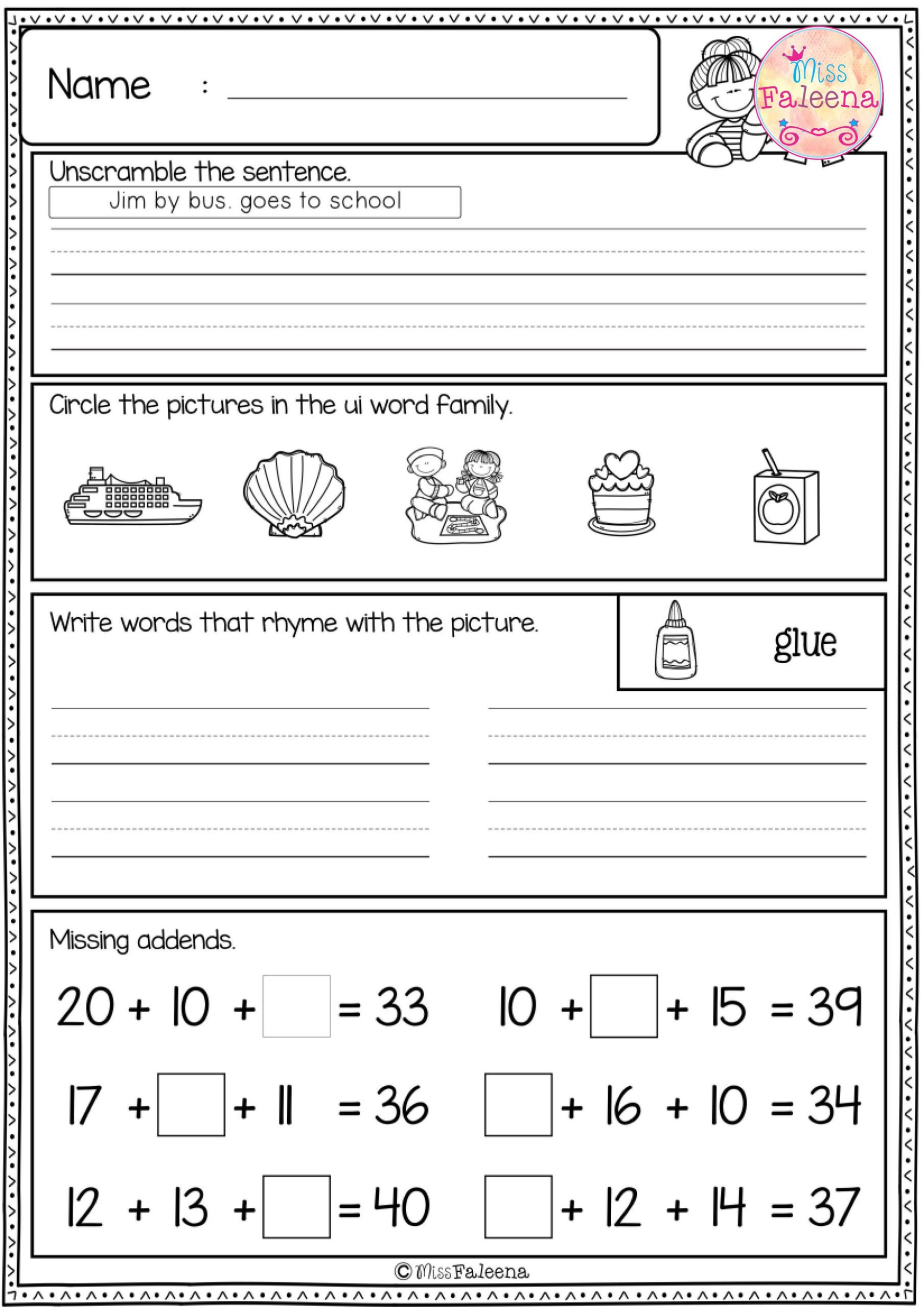 Missing Letters Worksheet for Kindergarten Worksheet Missing Letters Worksheets for Kindergarten Free