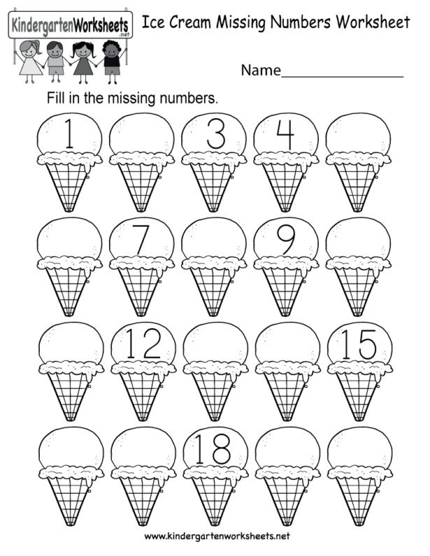 Missing Number Worksheet Kindergarten Worksheet Worksheet Halloween Activity Sheet forten How