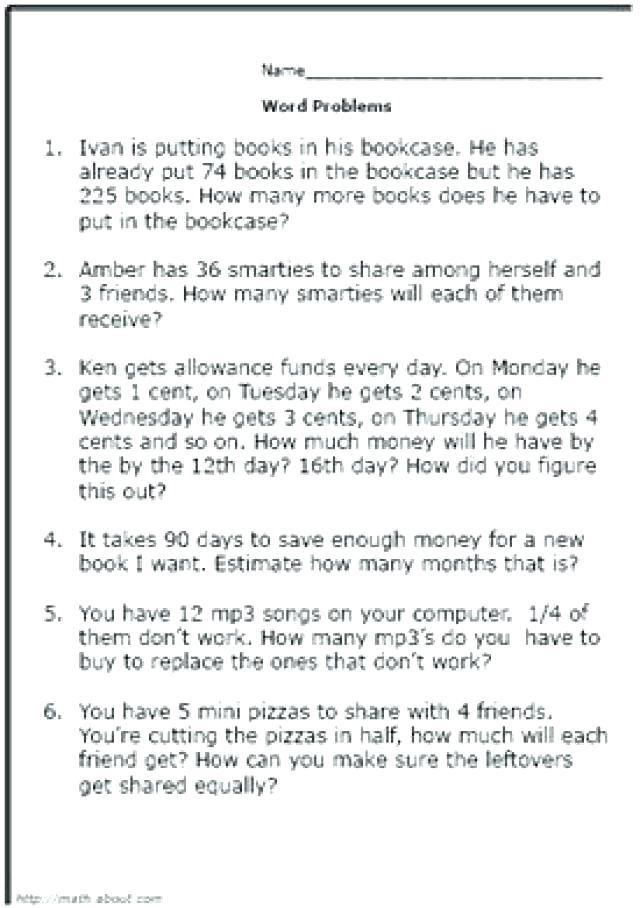 Money Worksheets 3rd Grade Money Worksheets for Grade 3 – Keepyourheadup