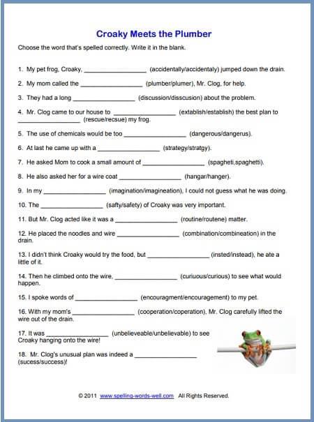 Money Worksheets for 3rd Grade 5th Grade Spelling Worksheets Worksheets Fun Math Worksheets