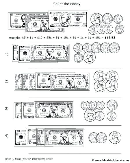 Money Worksheets for 3rd Grade Counting Money Worksheets 3rd Grade – Callumnichollsub