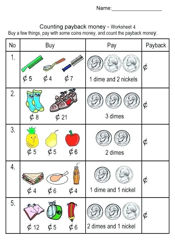 Money Worksheets for 3rd Grade Money Worksheets for Grade 3 – Keepyourheadup