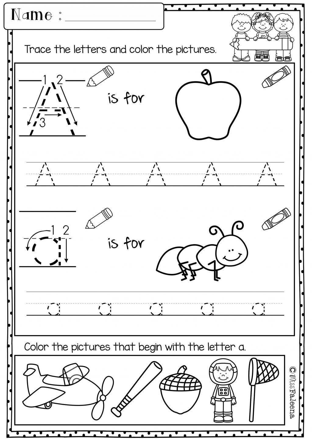 Morning Worksheets for Kindergarten 3 Morning Work Preschool Printable Worksheets Worksheets