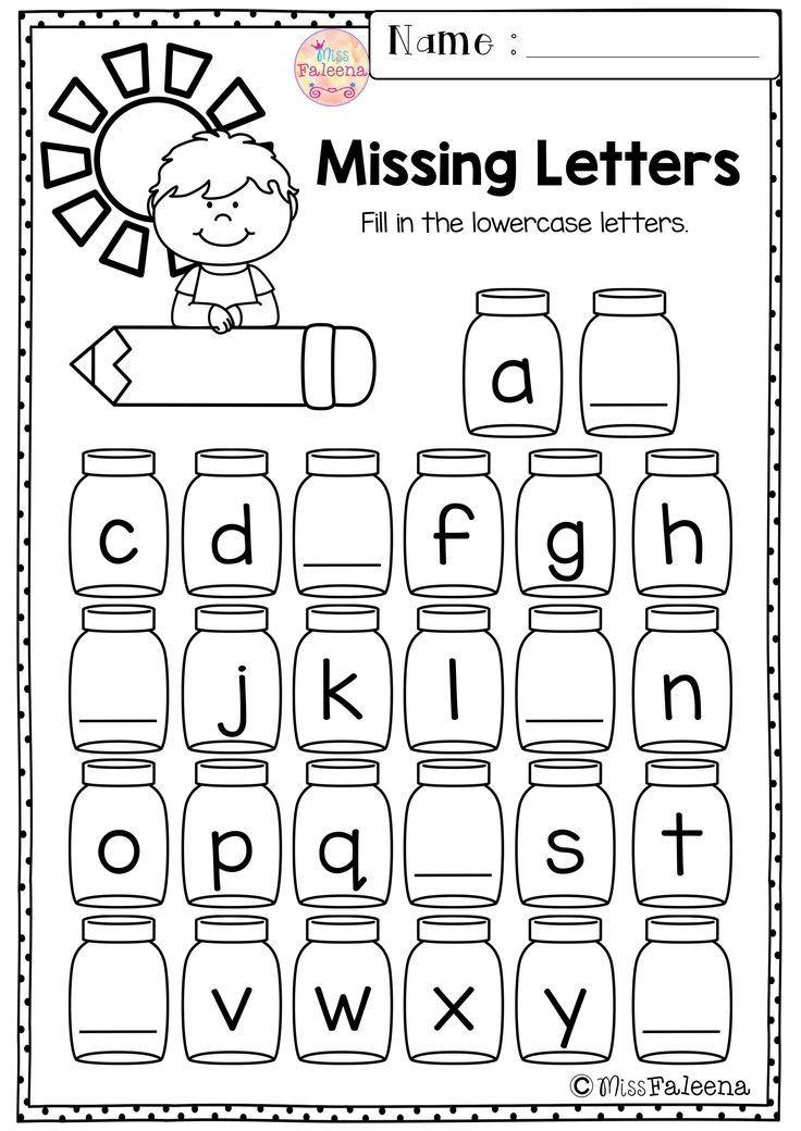 Morning Worksheets for Kindergarten Kindergarten Morning Work Set 1