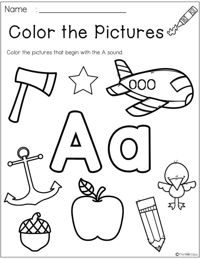 Morning Worksheets for Kindergarten Letter the Week Phonics Kindergarten Morning Work