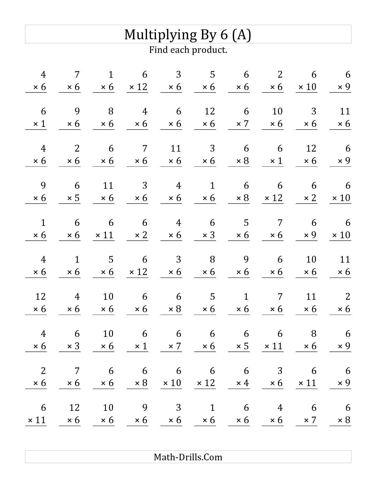 Multiplication Worksheets 0 12 Printable Time Test Multiplication Worksheet 0 5