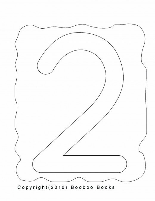 Number 2 Worksheets for Preschool Number Recognition Worksheets & Activities