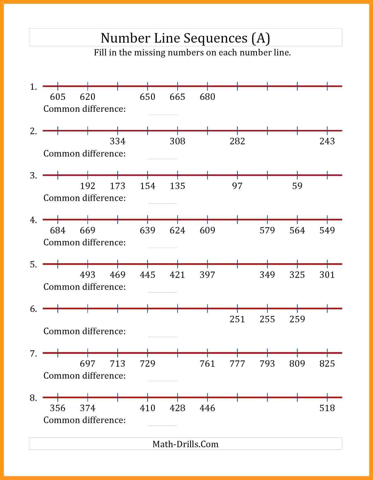 Number Lines Worksheets 3rd Grade Mixed Numbers A Number Line Worksheet Fractions and Mixed