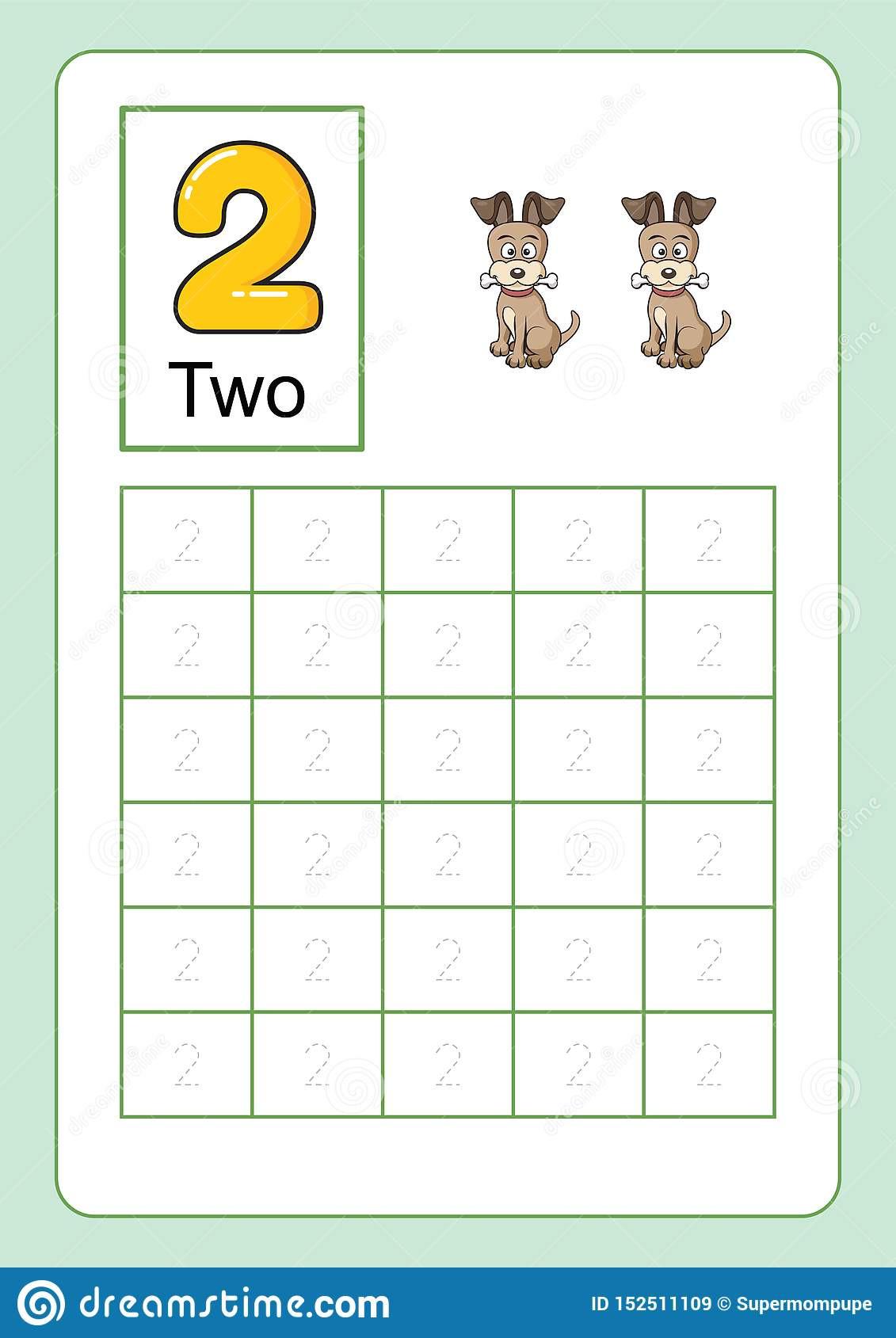 Number Tracing Worksheets for Kindergarten Number Tracing and Writing Tracing Worksheet for
