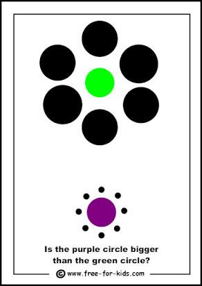 Optical Illusion Worksheets Printable Free Printable Optical Illusions Worksheets