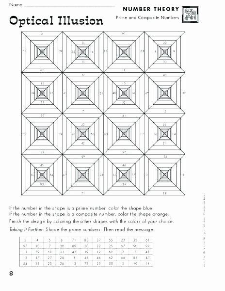 Optical Illusion Worksheets Printable Optical Illusion Worksheets Printable Optical Illusions for