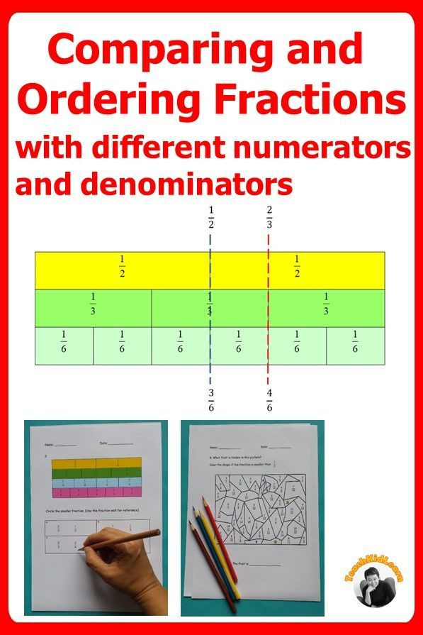 Ordering Fractions Worksheet 4th Grade Fractions 4th Grade Pare and Arrange Fractions Using