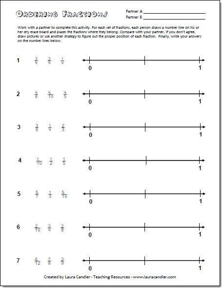 Ordering Fractions Worksheet 4th Grade Need Help Finding A Teaching Resource