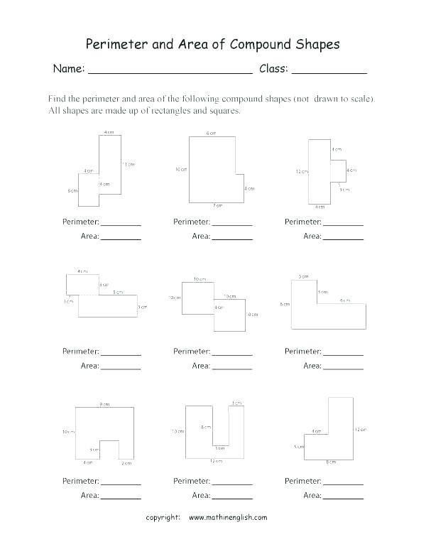 Perimeter Worksheet for 3rd Grade Perimeter Worksheets Math Year 4 Maths Perimeter Worksheet