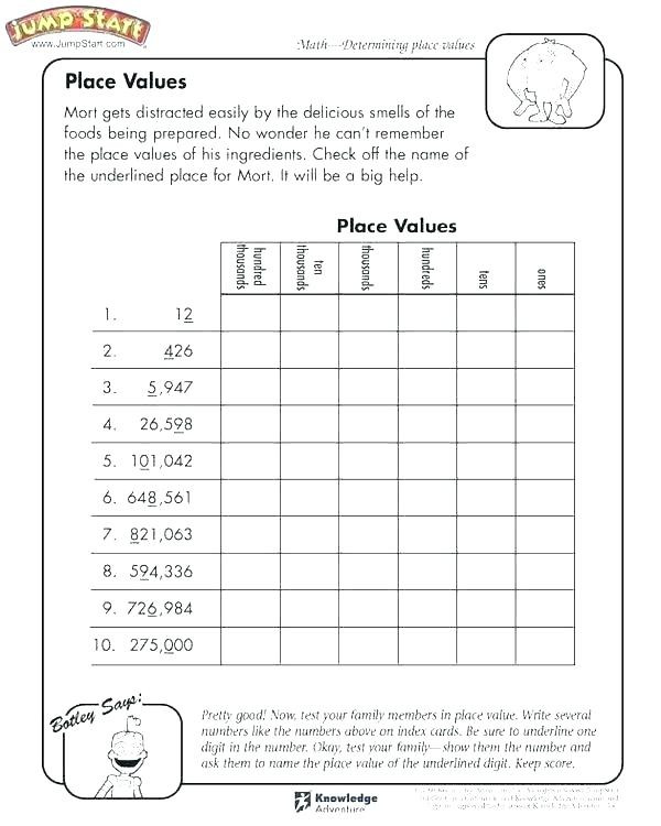Place Value Worksheet 3rd Grade Place Value Worksheets 3rd Grade – Keepyourheadup