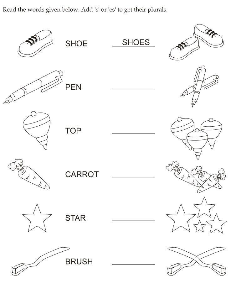 Plurals Worksheet 3rd Grade Make Plural Download Free Make Plural for Kids