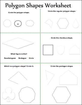 Polygon Worksheets 2nd Grade Geometry Geometry Worksheet for Kids