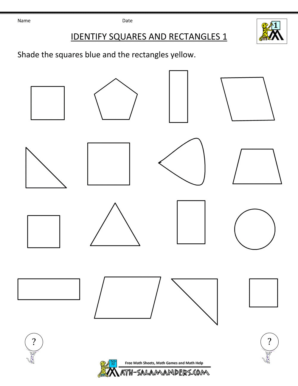 Polygon Worksheets 5th Grade 5 Free Math Worksheets Fifth Grade 5 Geometry Rectangular