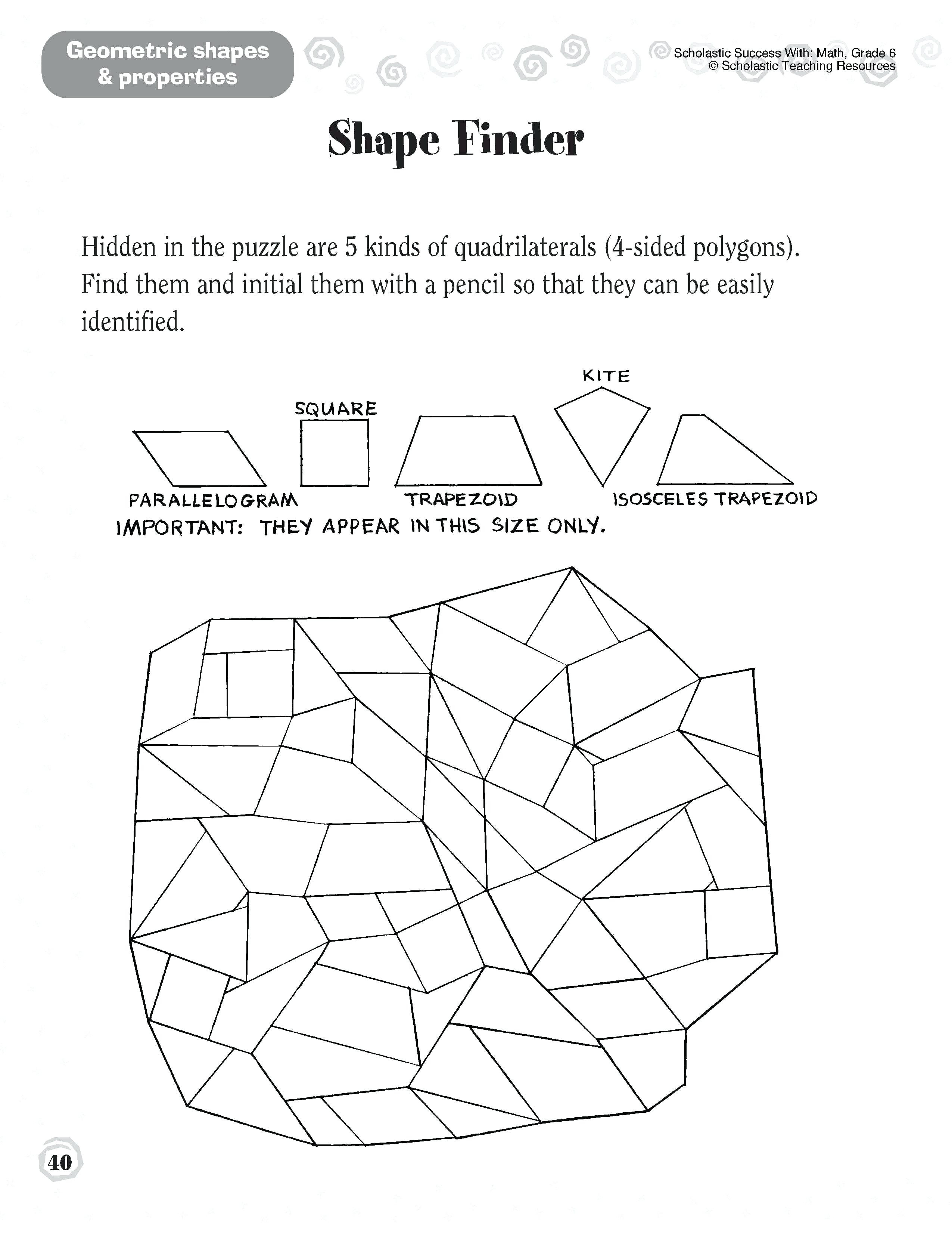 Polygons Worksheets 5th Grade 5th Grade Geometry Worksheets – Watchesprice