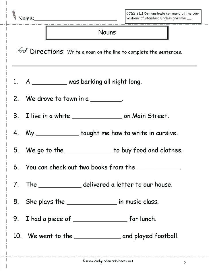 Possessive Pronouns Worksheet 3rd Grade Noun Worksheets 3rd Grade Possessive and Plural Nouns for