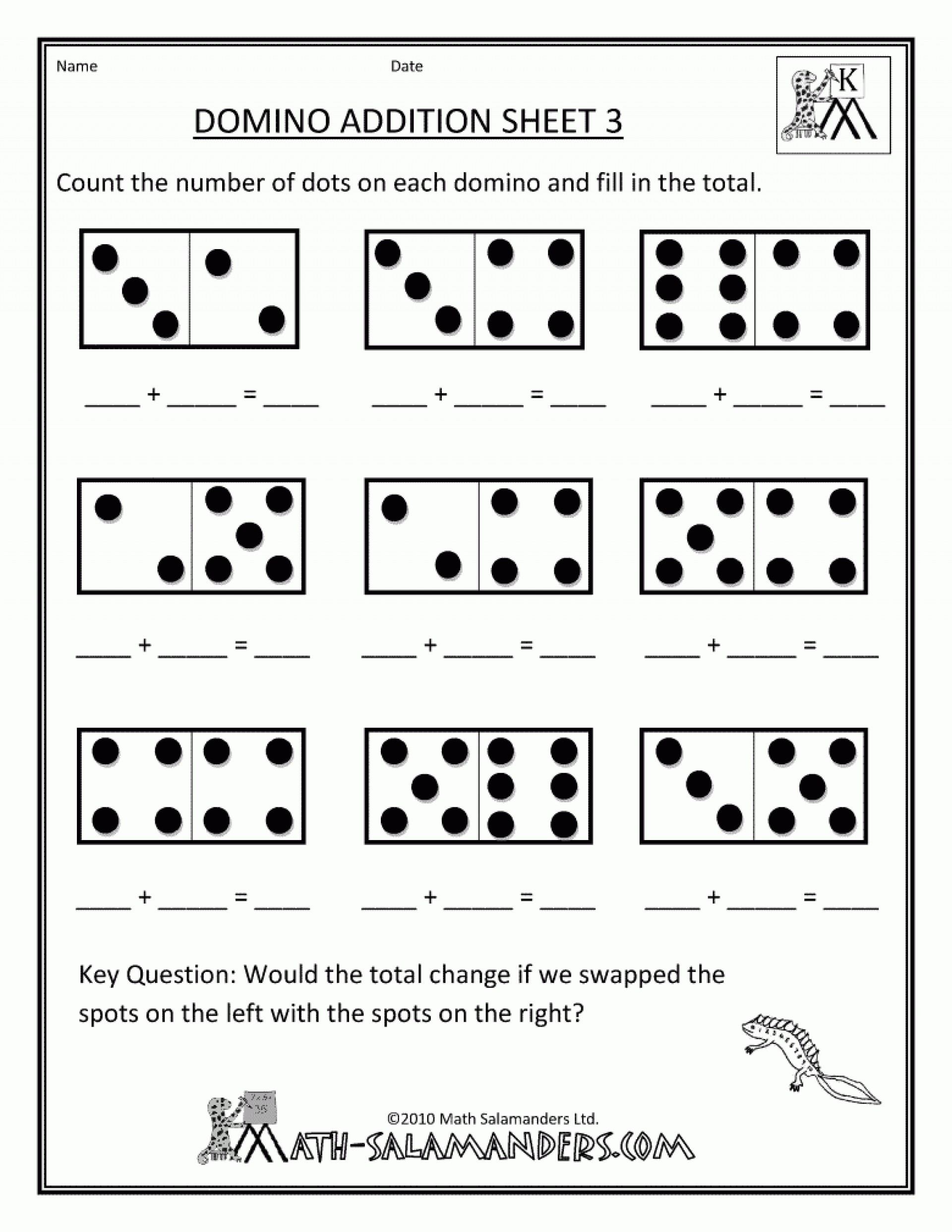 Preschool Addition Worksheets Printable Printable Preschool Math Pages Clover Hatunisi