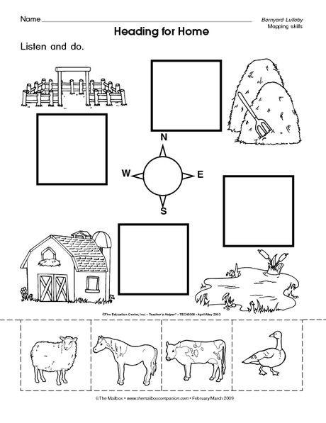 Preschool social Studies Worksheets Heading for Home the Mailbox