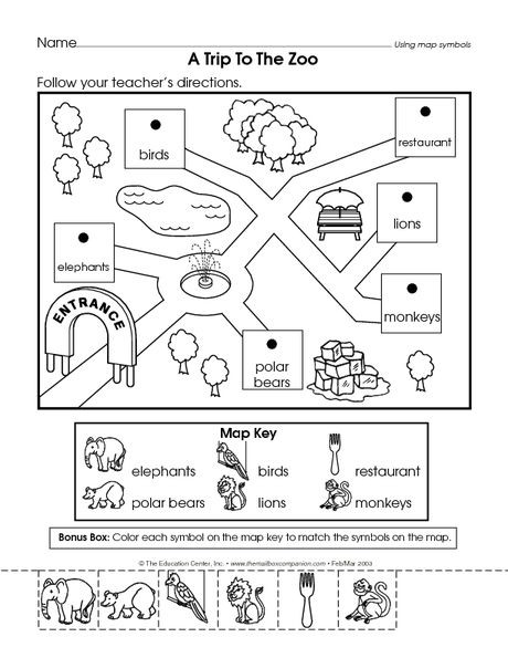Preschool social Studies Worksheets Placeholder
