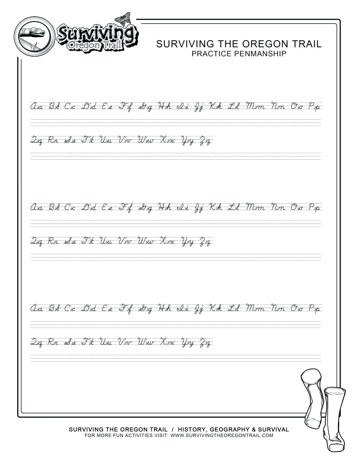 Printable Cursive Writing Worksheets Printable Cursive Writing Worksheets Cursive Letters