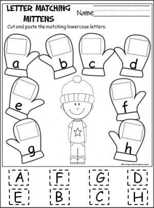 Printable Cut and Paste Worksheets Pin On Kids Alphabet