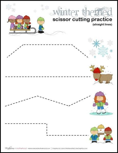 Printable Cutting Worksheets for Preschoolers Pin On Free Printable Of the Day