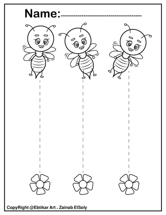 Printable Cutting Worksheets for Preschoolers Straight Line Tracing Preschool Cutting Worksheets Activites