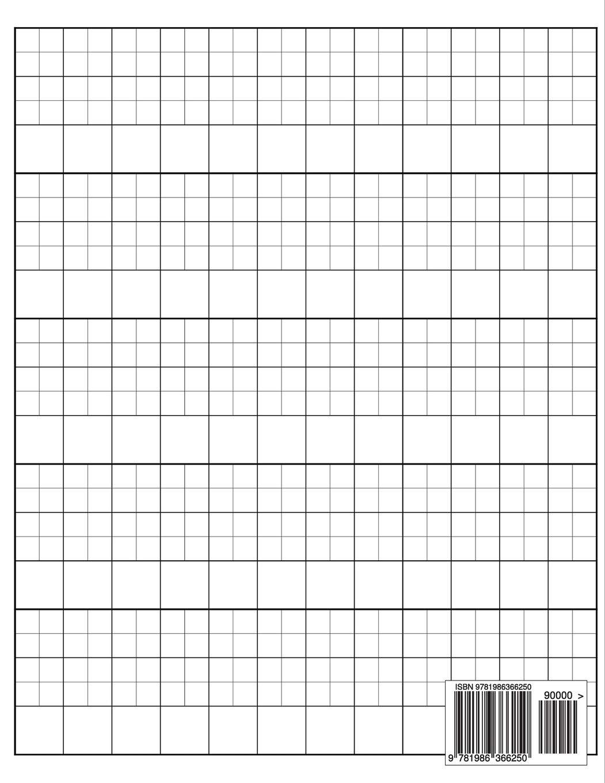 Printable Kanji Practice Sheets Japanese Writing Notebook Syllabary Hiragana Katakana